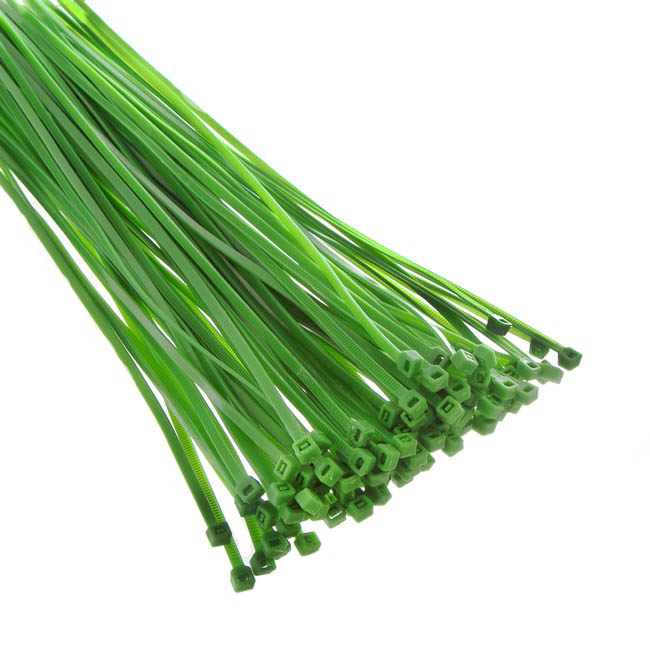 Cable Tie 30cm Green (Bag of 100)