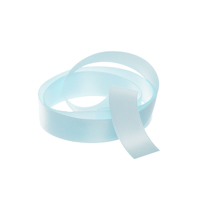 Ribbon Double Face Satin Baby Blue (15mmx25m)