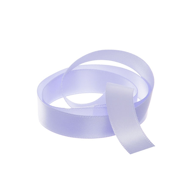 Satin Ribbons - Ribbon Satin Deluxe Double Faced Lavender (15mmx25m)