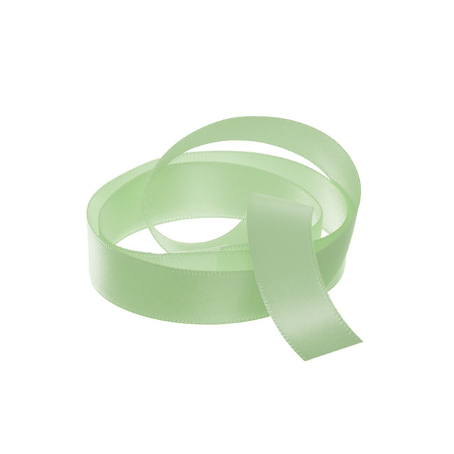 Ribbon Double Face Satin Sage Green (15mmx25m)