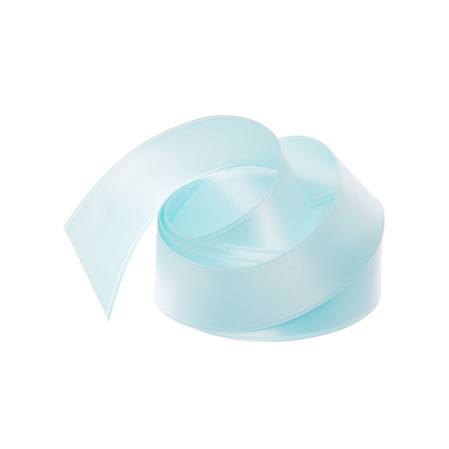 Ribbon Double Face Satin Baby Blue (25mmx25m)
