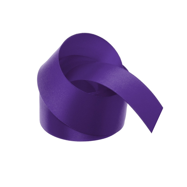 Ribbon Double Face Satin Violet (38mmx25m)