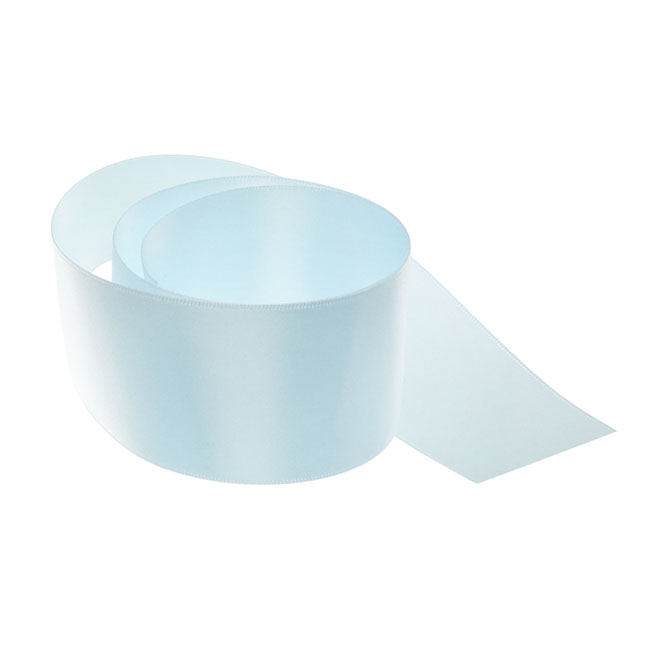 Ribbon Double Face Satin Baby Blue (50mmx25m)
