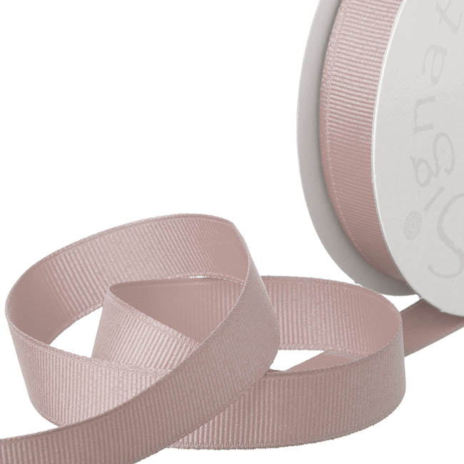 Grosgrain Ribbons - Ribbon Plain Grosgrain Dusk (15mmx20m)