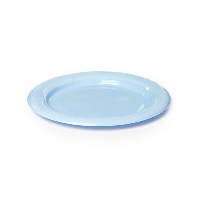 Plate Lunch Premium 180mmD Pack 25 Soft Blue