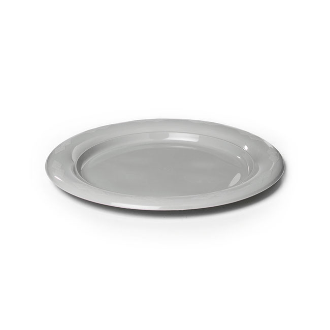 Plate Lunch Premium 180mmD Pack 25 Silver