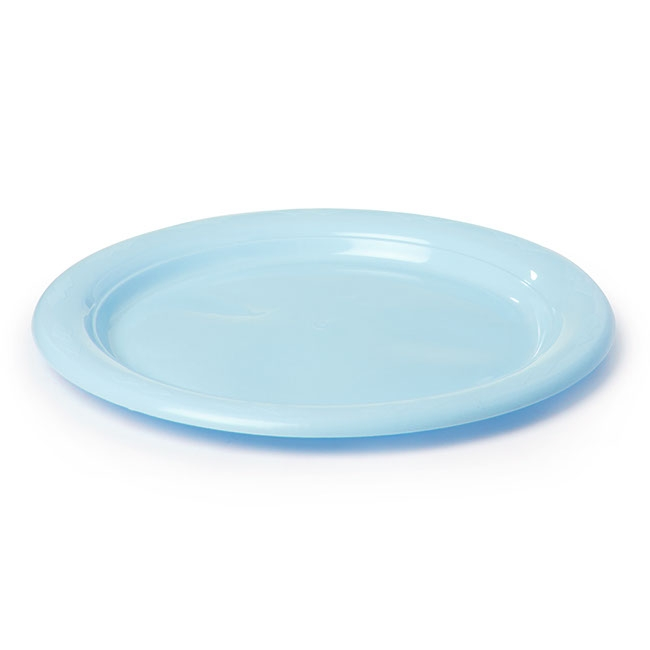 Plate Dinner Premium 230mmD Pack 25 Soft Blue