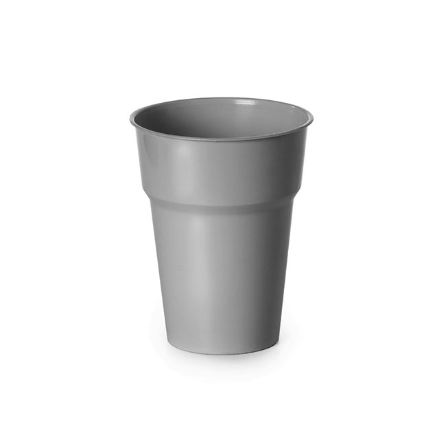Cup Deluxe 285ml Pack 25 Silver