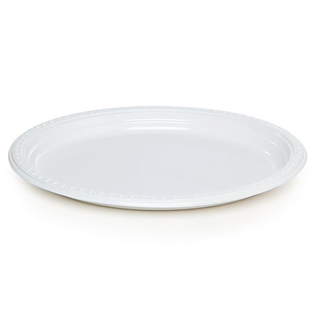 Plate Oval 290x230mm Bulk Pack of 50