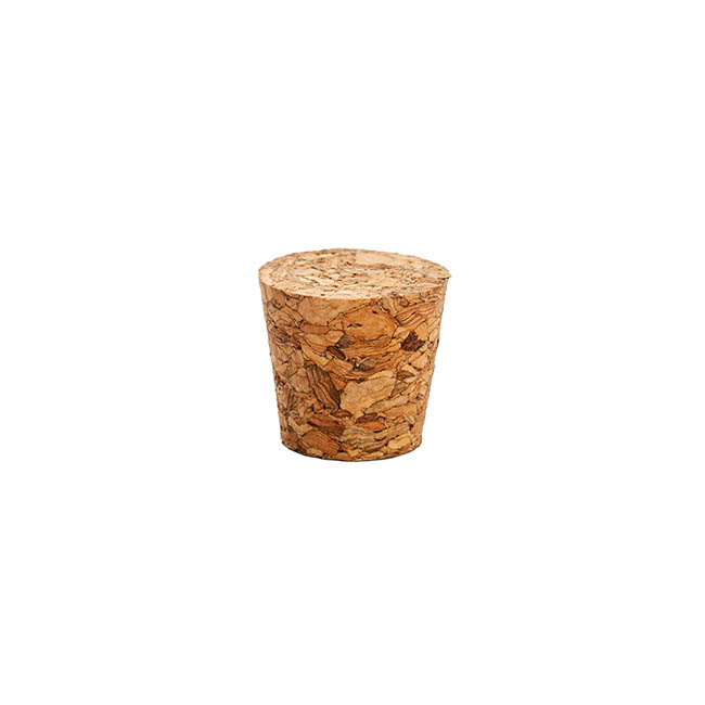 Party Decorations - Small Cork Pack of 12 Natural (21Dx16Bx20mmH)