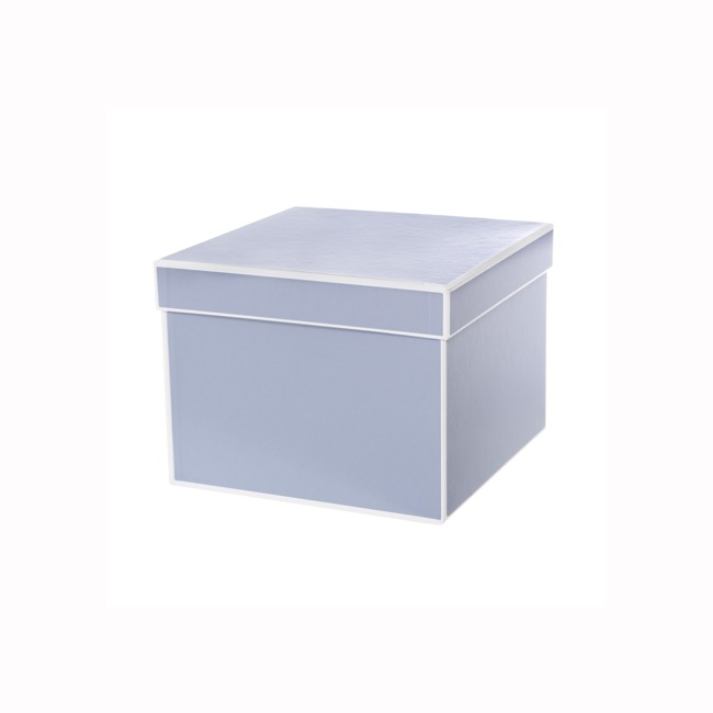 Signature Jewellery Box Baby Blue PK5 (7x7x6cmH)