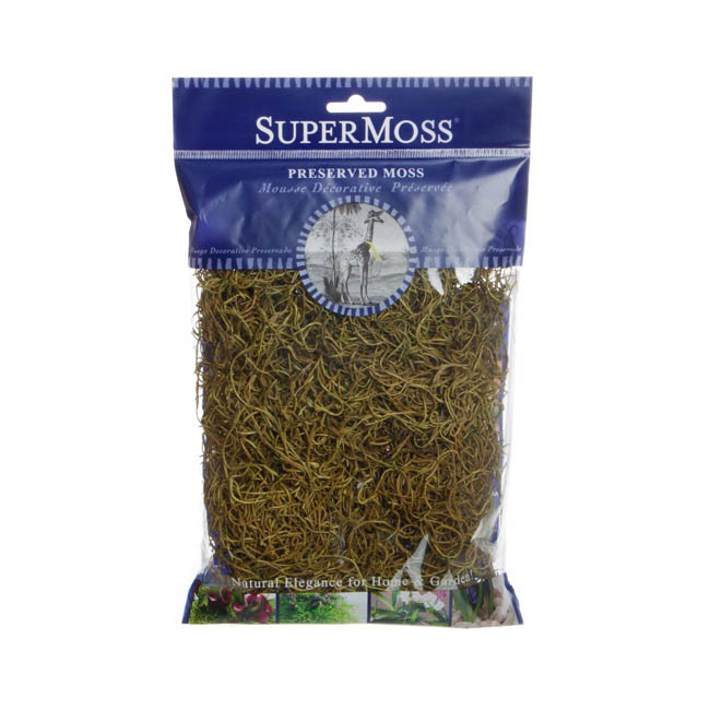 Spanish Moss Preserved Basil (110gm Bag)