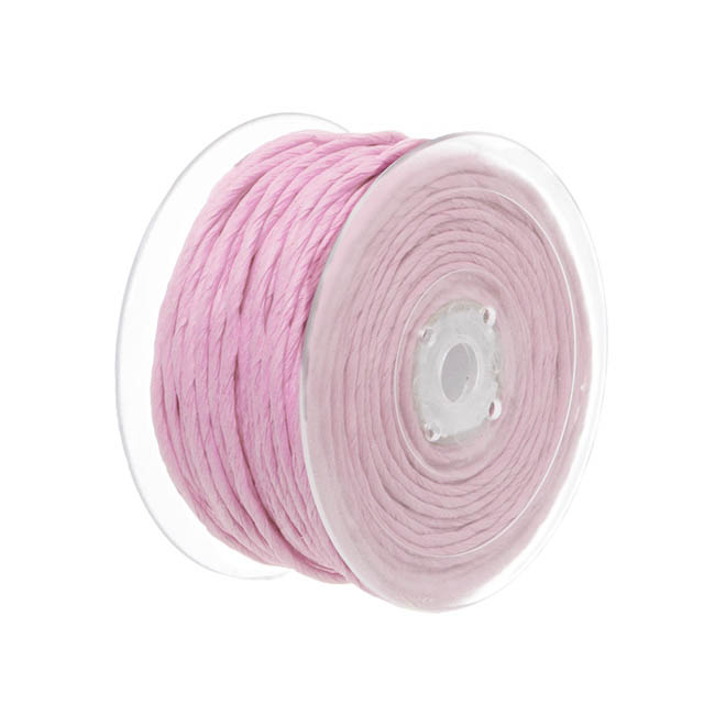 Twisted Paper Cord Baby Pink (4mmx50m)