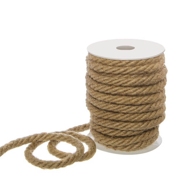 Jute String & Rope - Natural Jute Rope (10mmx10m)