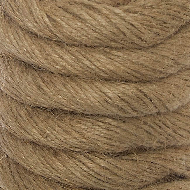 Jute String - Natural Jute Rope 50 Ends (15mmx4m)