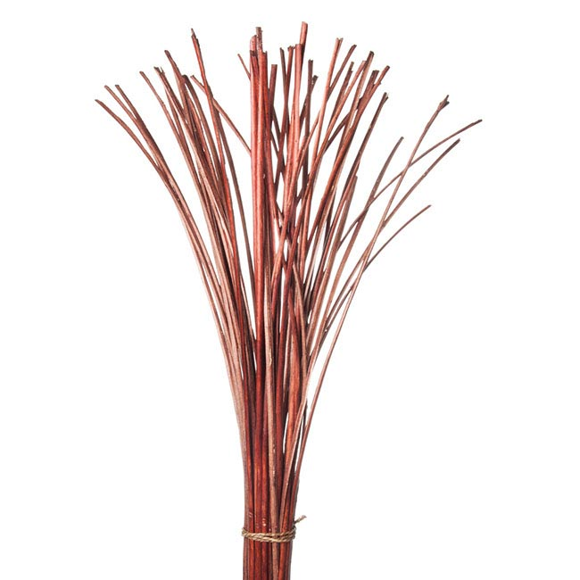 Willow Sticks Split Dark Brown (70cmH)