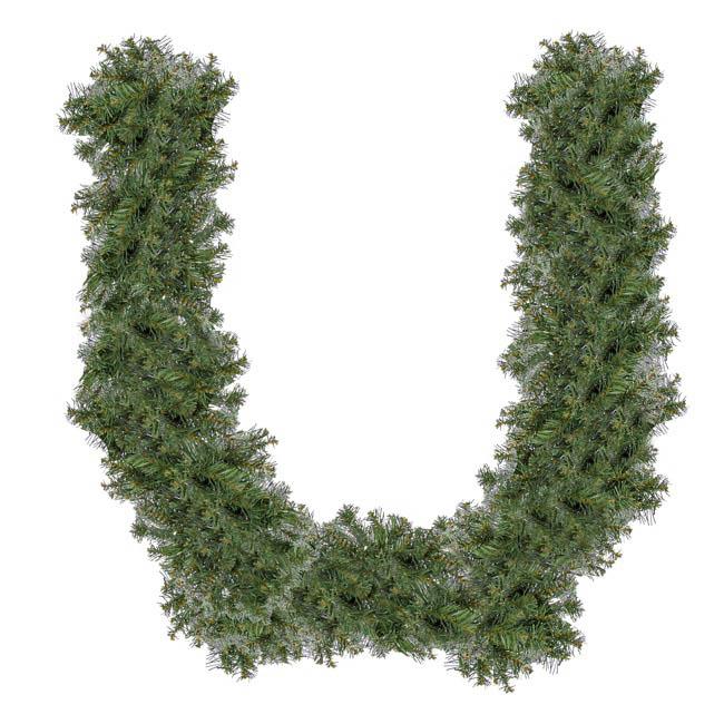 christmas garlands normandy pine christmas garland green 180cm - Green Christmas Garland