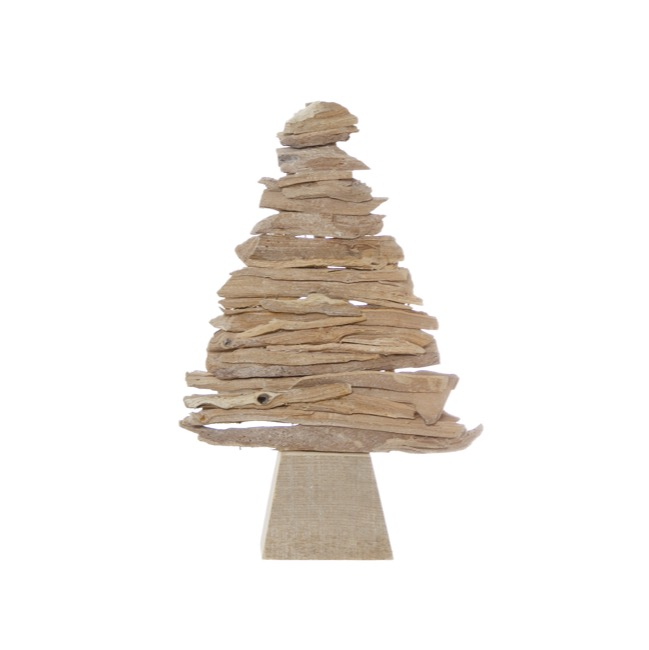 christmas ornaments rustic wooden christmas tree decoration natural 37cm - Rustic Wood Christmas Tree