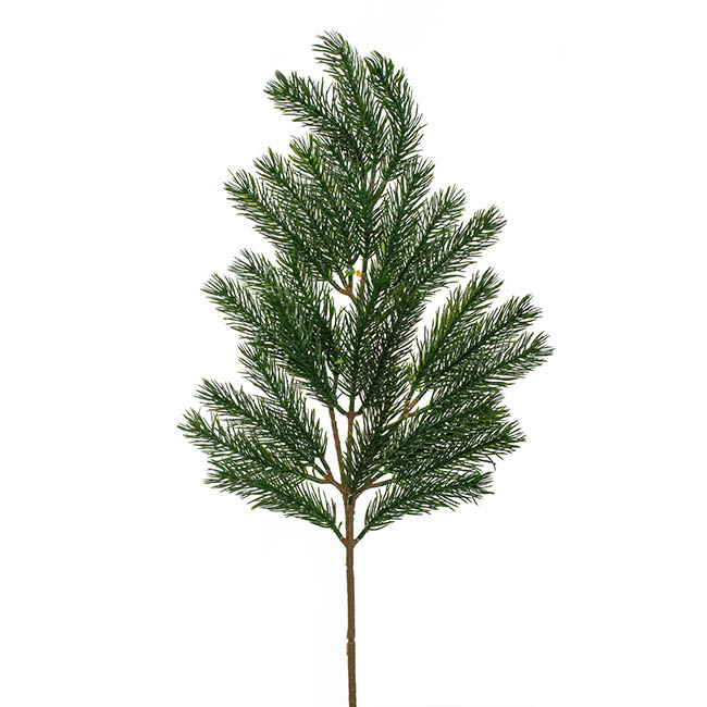 Christmas Flowers - Christmas Pine Spray Touch Green (62cmH)