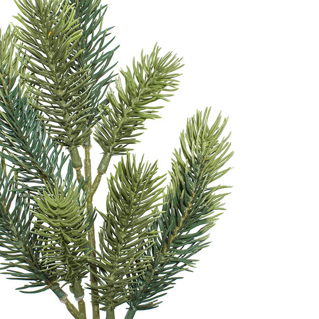 Christmas Flowers - Canadian Pine Spray Real Touch Green (36cmH)