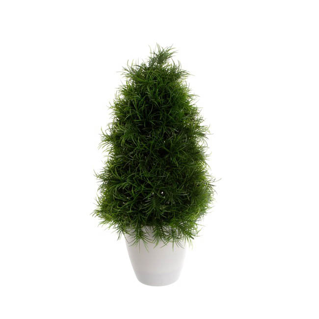 Pine Tree with Pot Green (33cmH)