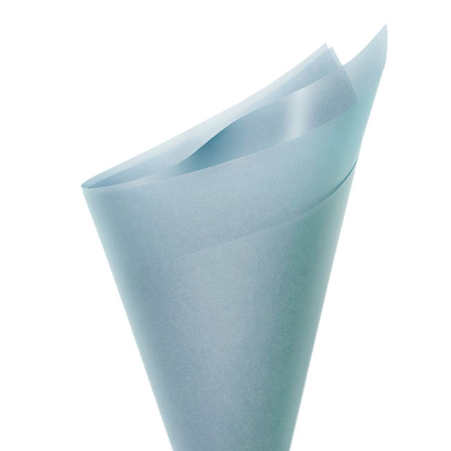 Tallow Wrap - Tallow Paper 75mic Baby Blue (60x60cm) Pack 100