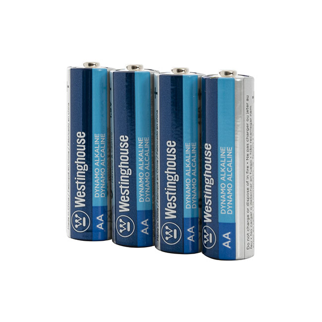 Battery AA  Alkaline 4 Pack
