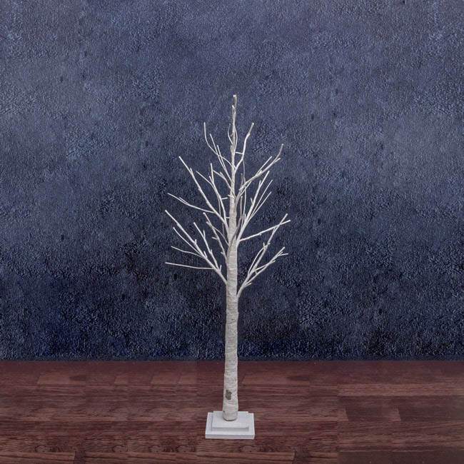 LED Twigs Tree 42 Lights Natural Birch (120cmH)