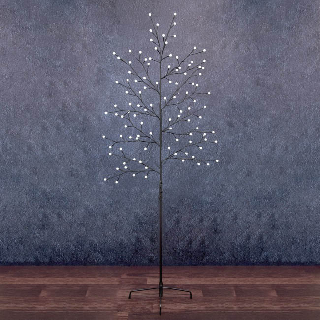 LED Decorations - LED Tree 108 Globe Lights Warm White 240V (1.8mH)