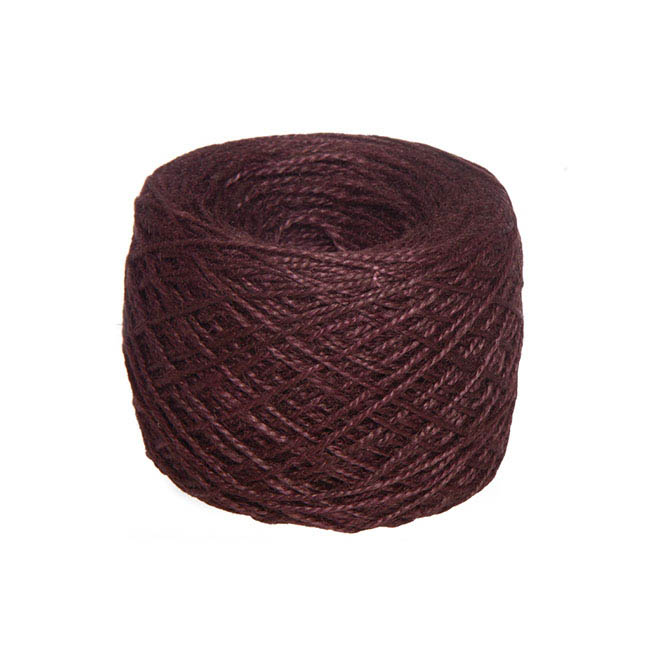 Jute String & Rope - Natural Jute String 300g Chocolate (270m)