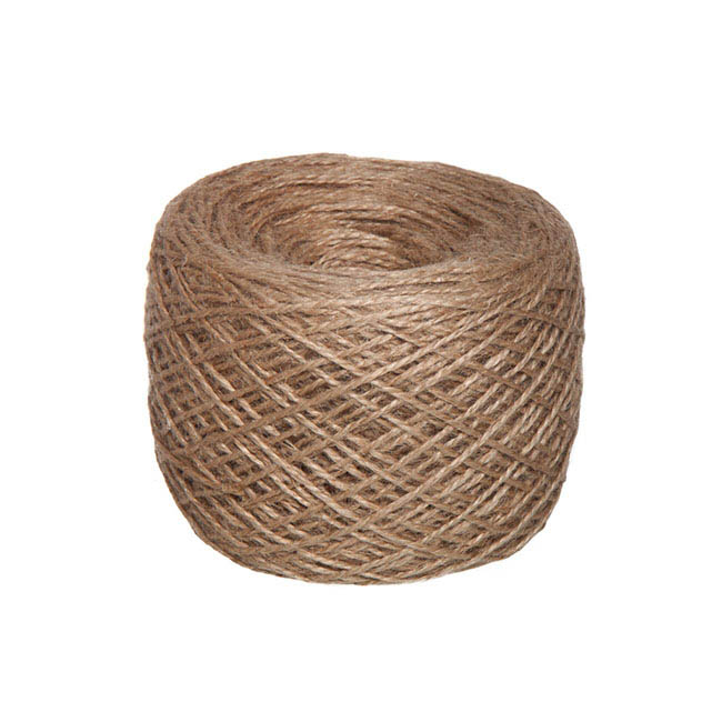 Jute String & Rope - Natural Jute String 300g Natural (270m)