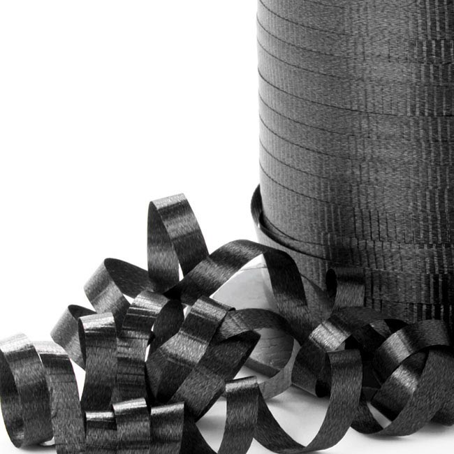 Ribbon Curling Black (5mmx450m)