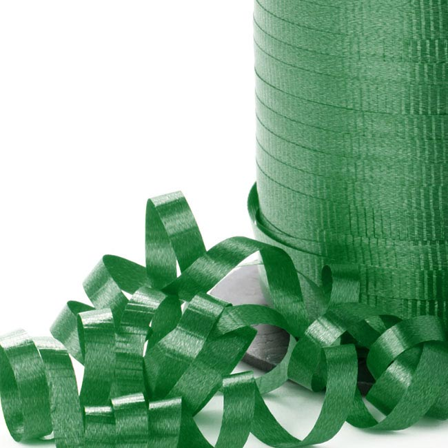 Ribbon Curling Emerald Green (5mmx450m)