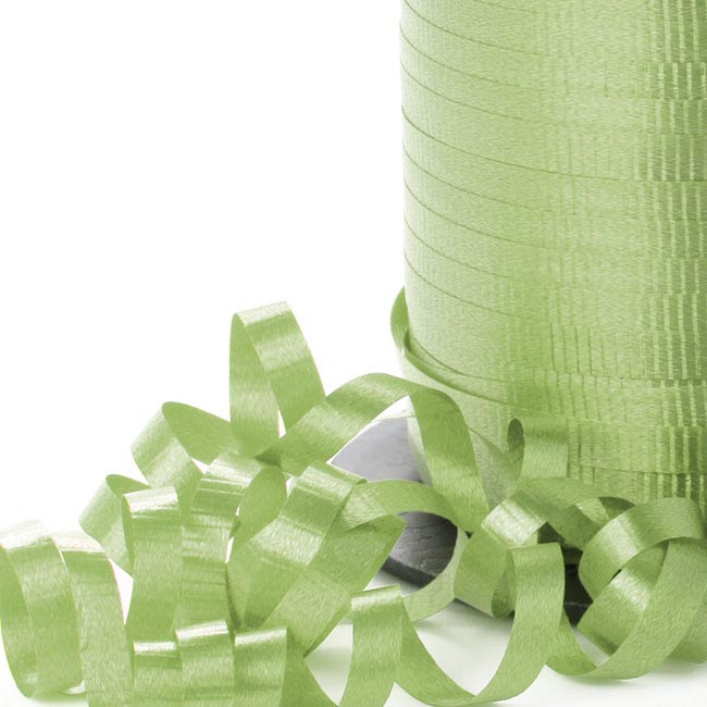 Ribbon Curling Lime Green (5mmx450m)
