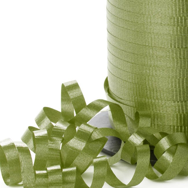 Curling Ribbons - Ribbon Curling Moss (5mmx450m)
