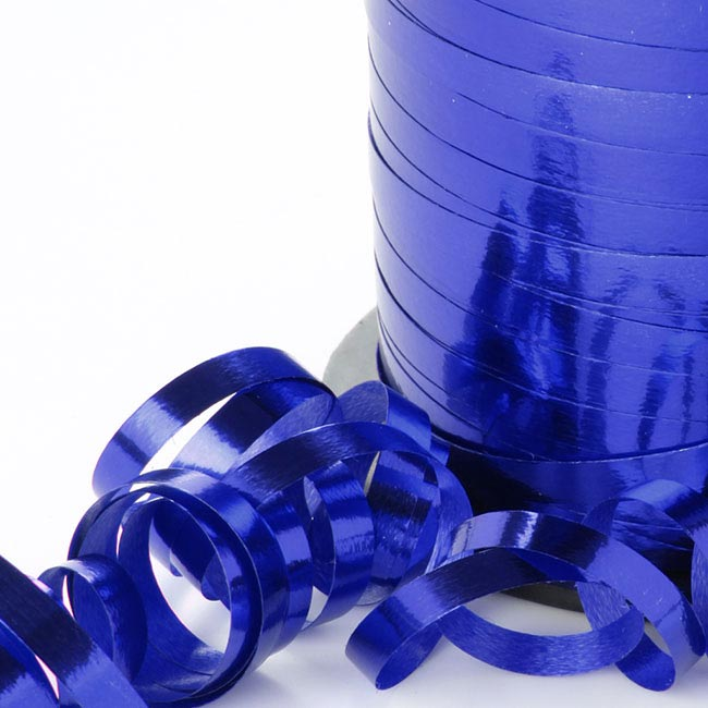 Ribbon Curling Metallic Royal Blue (5mmx450m)