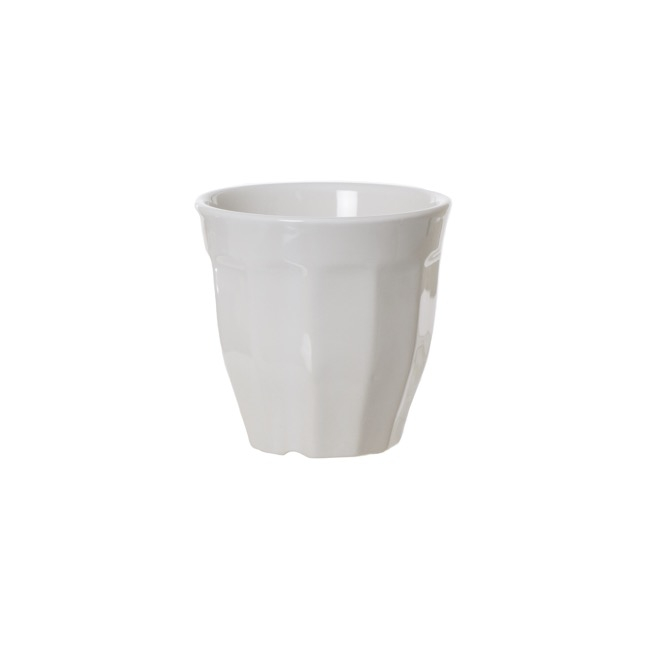 Ceramic Espresso Pot White (12.5cmDx12cmH)