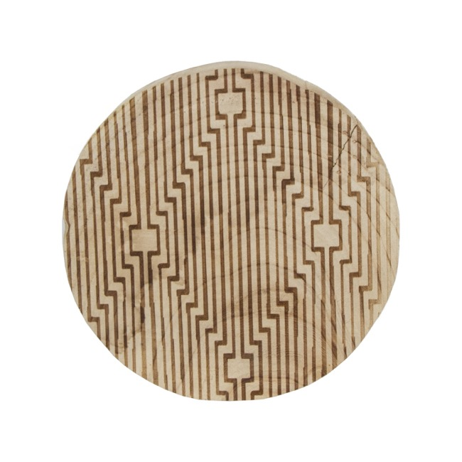 Wood Slices - Natural Wood Slice Log Decoration (Approx. 24-27cm)