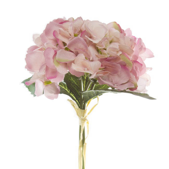Hydrangea Victoria Bouquet Pink 32cmh
