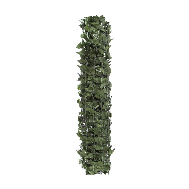 Artificial Greenery Walls - ArtificiaI Ivy Leaf Large on a PVC Roll Wall (Exp 1Mt x-3Mt)