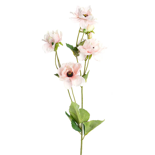 Other Artificial Flowers - Inaya Anemone Spray Pink (95cmH)