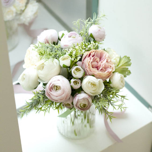 Other Flowers - Valentina Ranunculus Spray Lilac (49cmH)