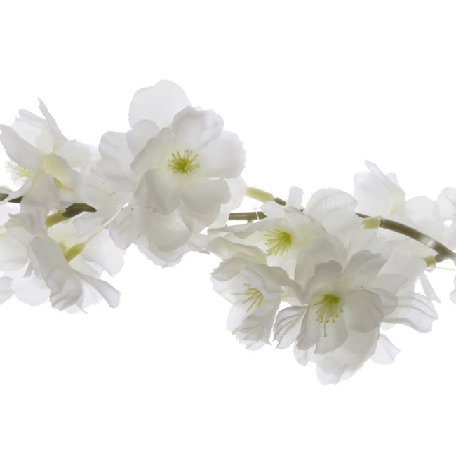 Other Flowers - Cherry Blossom Garland White (180cm)