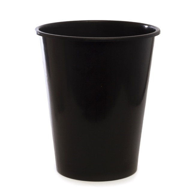 Plastic Flower Bucket - Dutch Flower Bucket Plastic Round 13L 29Dx33.5cmH Black