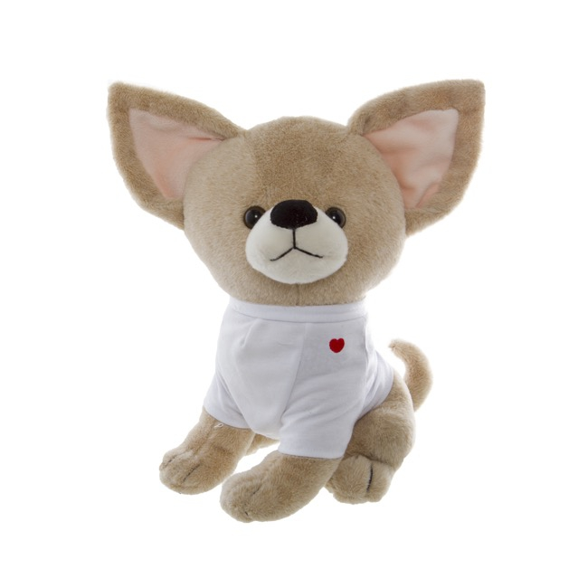 Pipa Chihuahua Dog with T.Shirt Beige (30cmST)