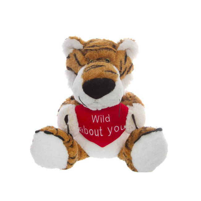 Valentines Teddy Bears - Timmy Tiger with Heart