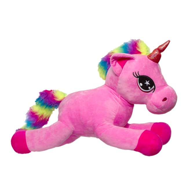 Unicorn Soft Toys - Ellen Unicorn Pink (60cmHT)