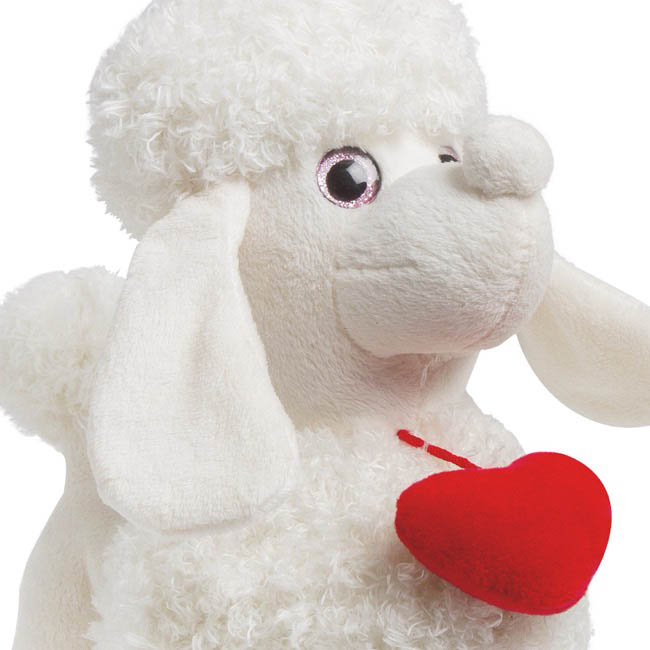 Valentines Teddy Bears - Nancy Poodle White (30cmST)