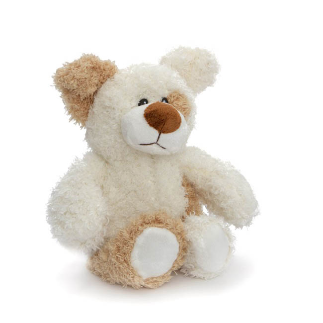Dog & Cat Soft Toys - Anton Dog White (21cmST)
