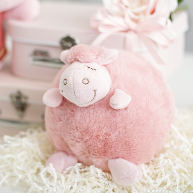 Sheep Soft Toys - Adrian Sheep Pink (15cmST)